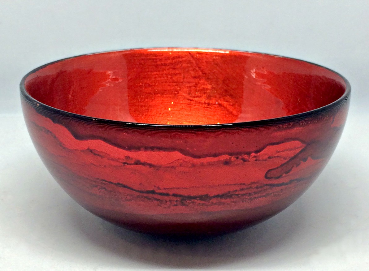 Graff.Mini Bowl 2 Red