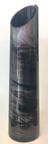 Graff. Bullet Vase Silver
