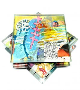 Julie Bell Art Tile 42
