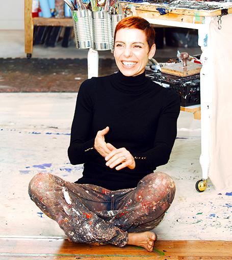 Kimberly Kiel: Outside the Lines