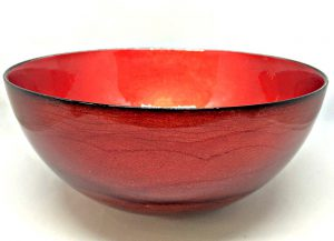 Graff.Small Bowl Red