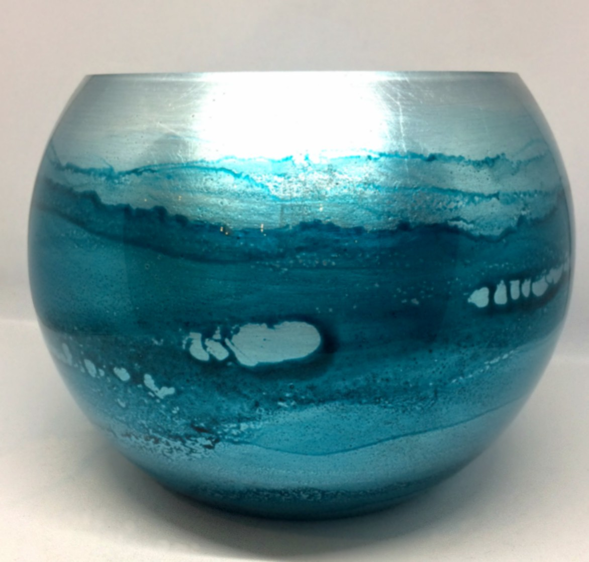 Graff.Small Bubble Bowl Turquoise
