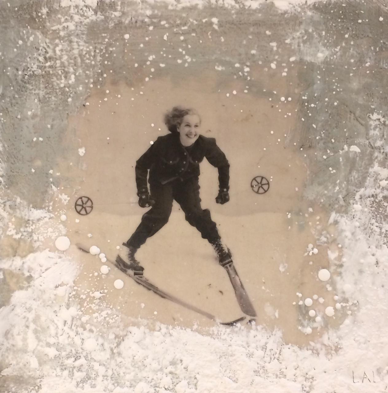 LaForge. Vintage Skier 2