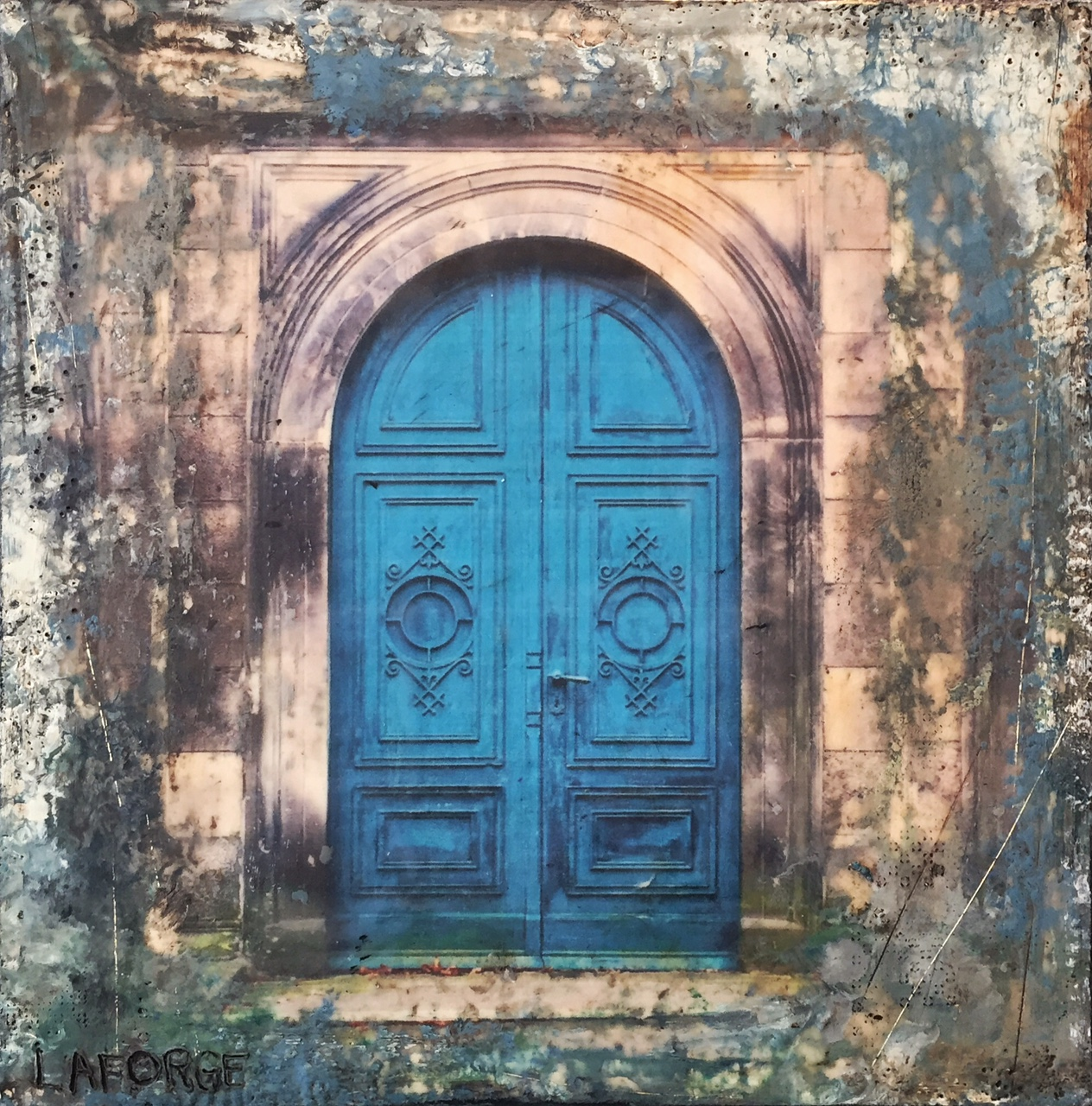 LaForge.Ancient Doors Blue