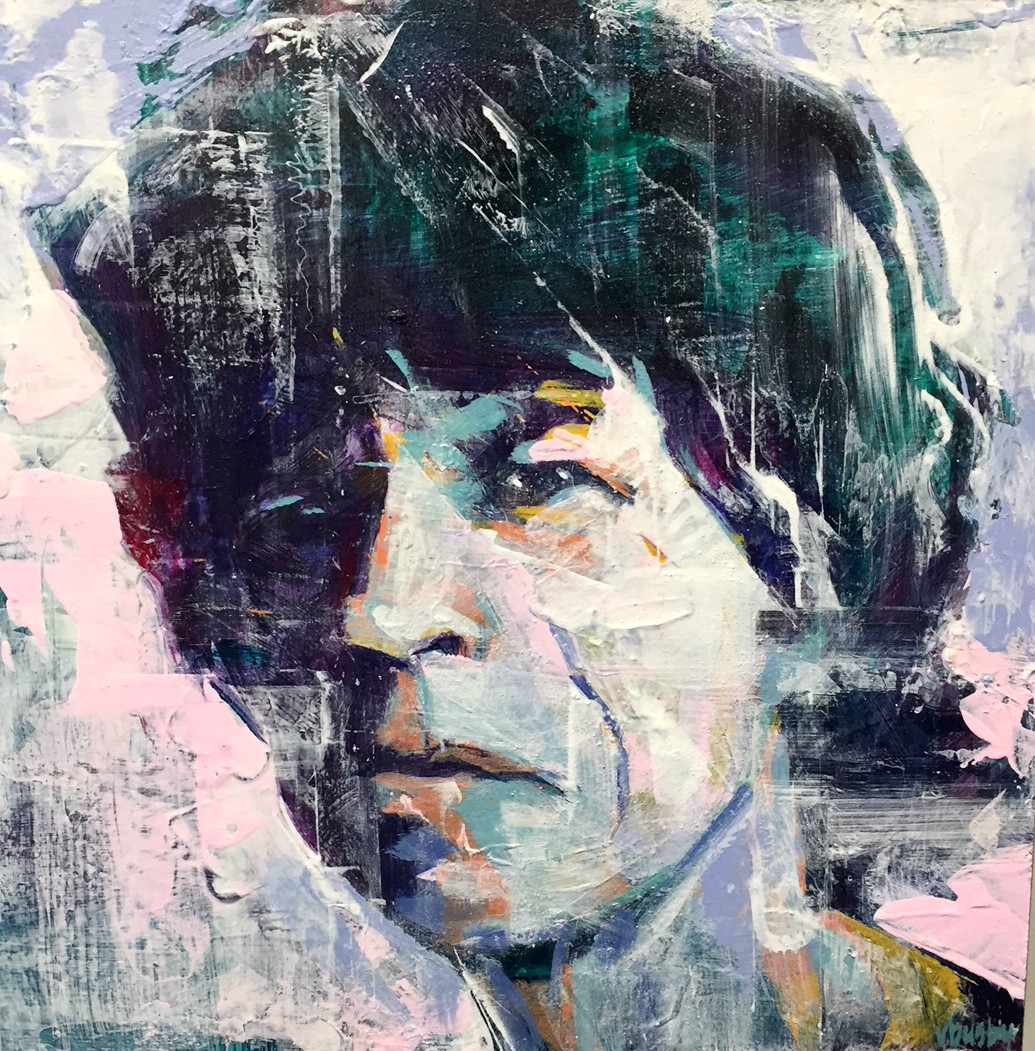 Busby.Mick Jagger