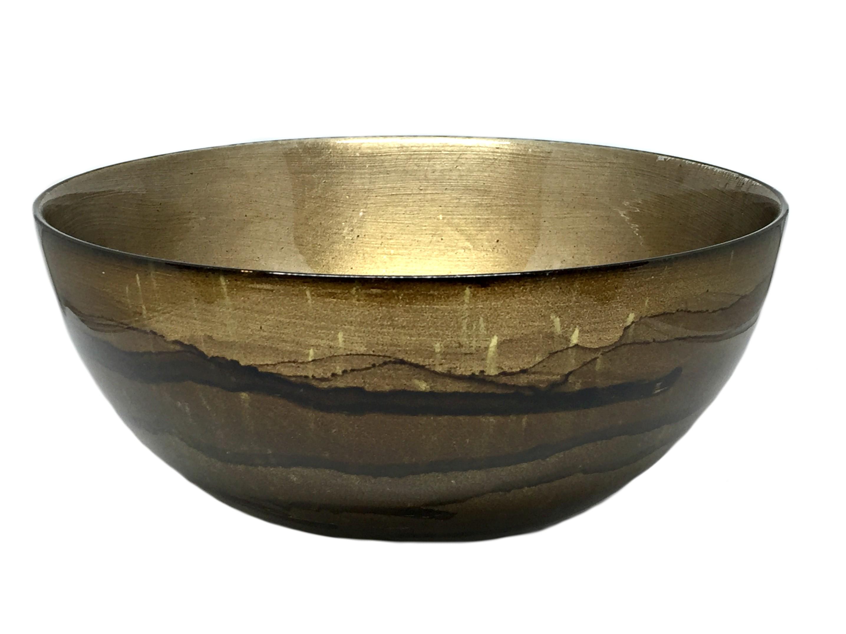 Graff.Small Glass Bowl Smoke