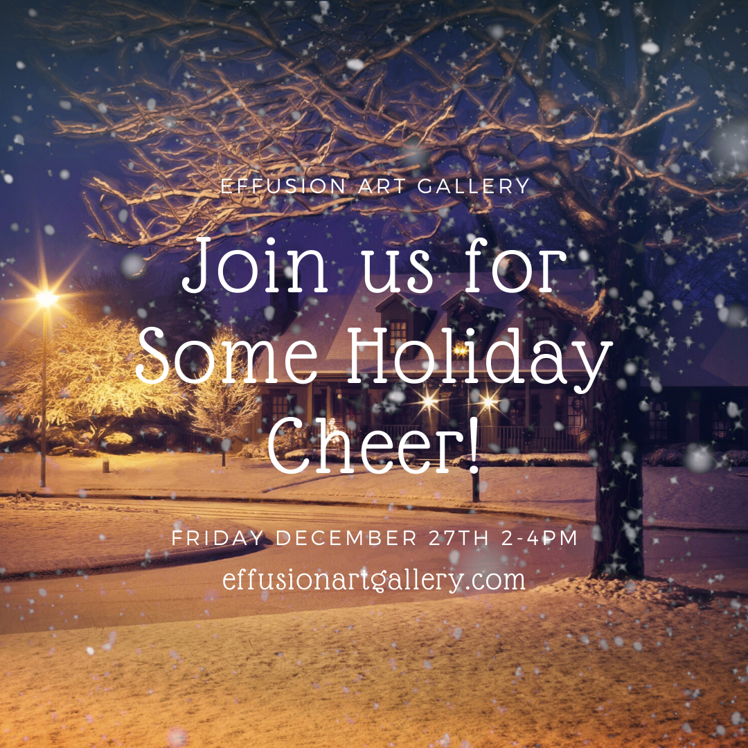 Holiday Cheer at Effusion Art Gallery + Cast Glass Studio, Invermere BC