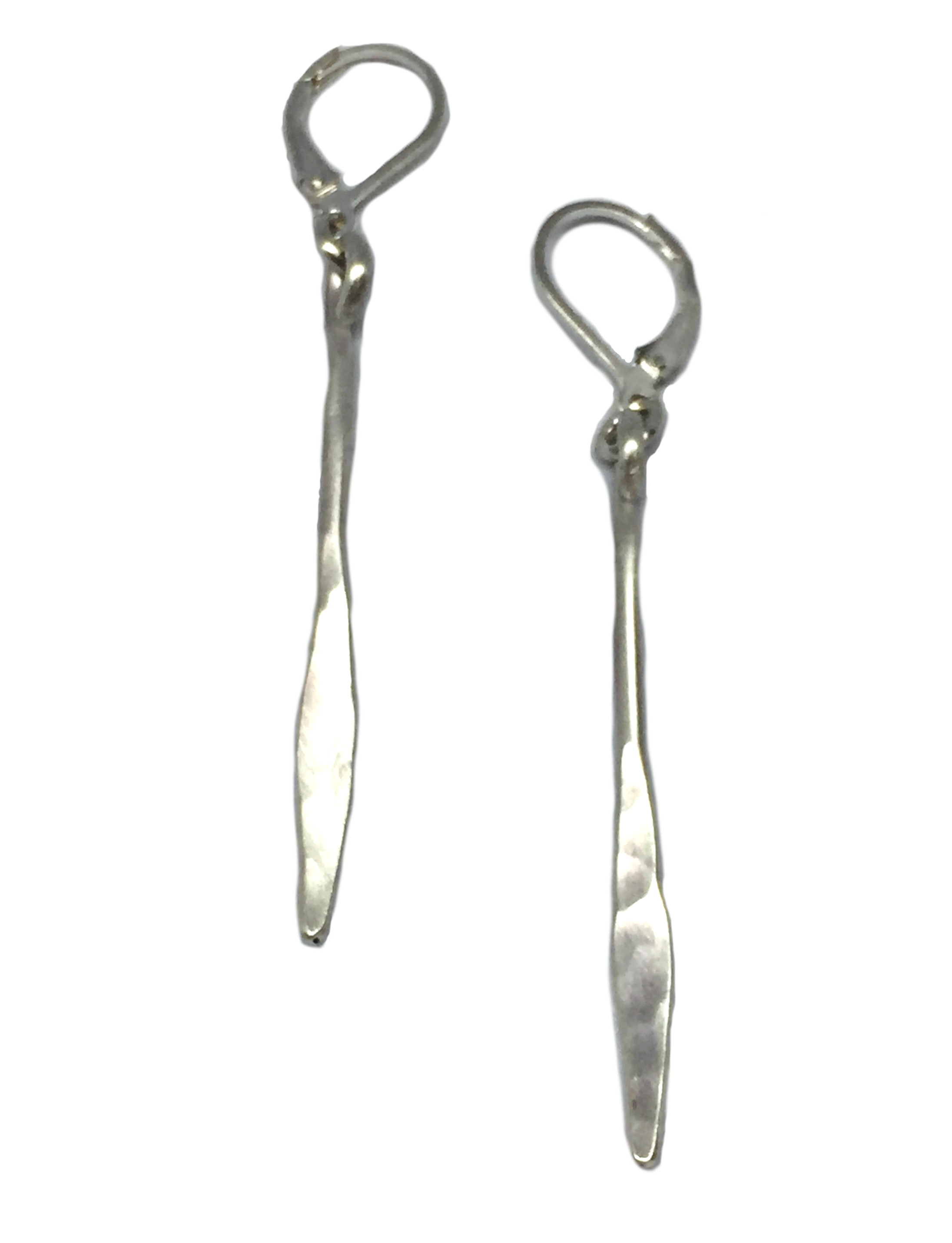 Sterling silver earrings by Karyn Chopik | Effusion Art Gallery + Cast Glass Studio, Invermere BC