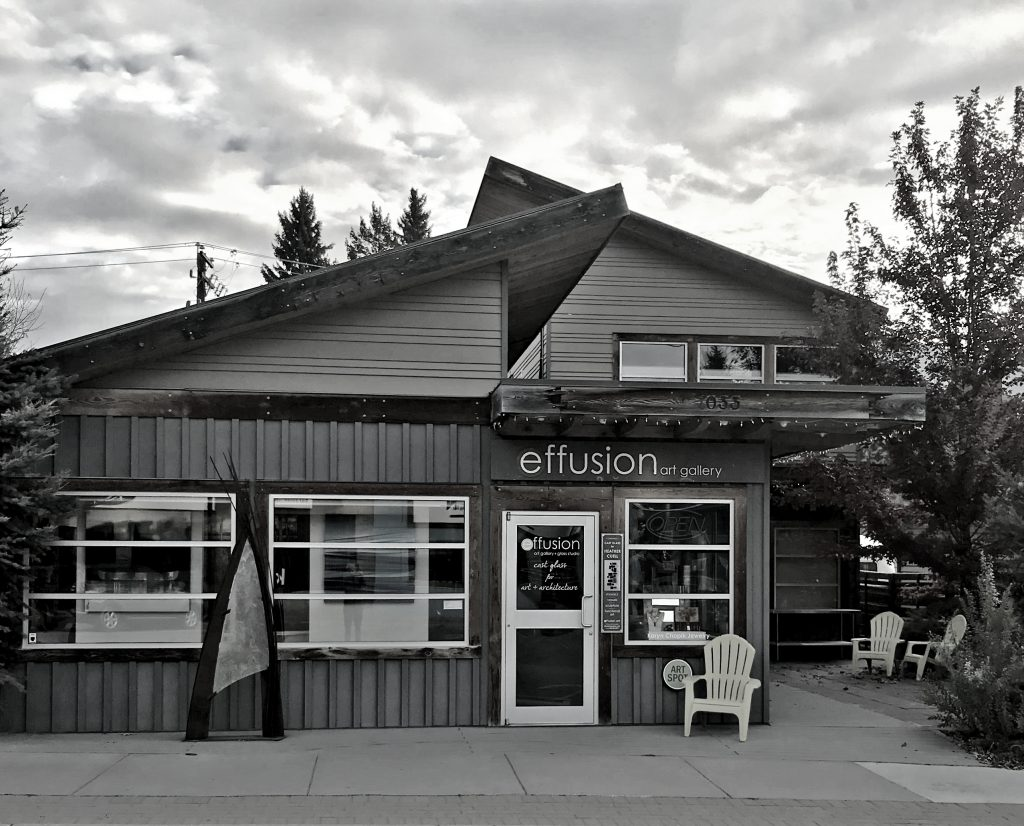 Effusion Art Gallery + Cast Glass Studio, Invermere BC
