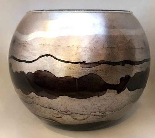 Large Bubble Bowl Silver
