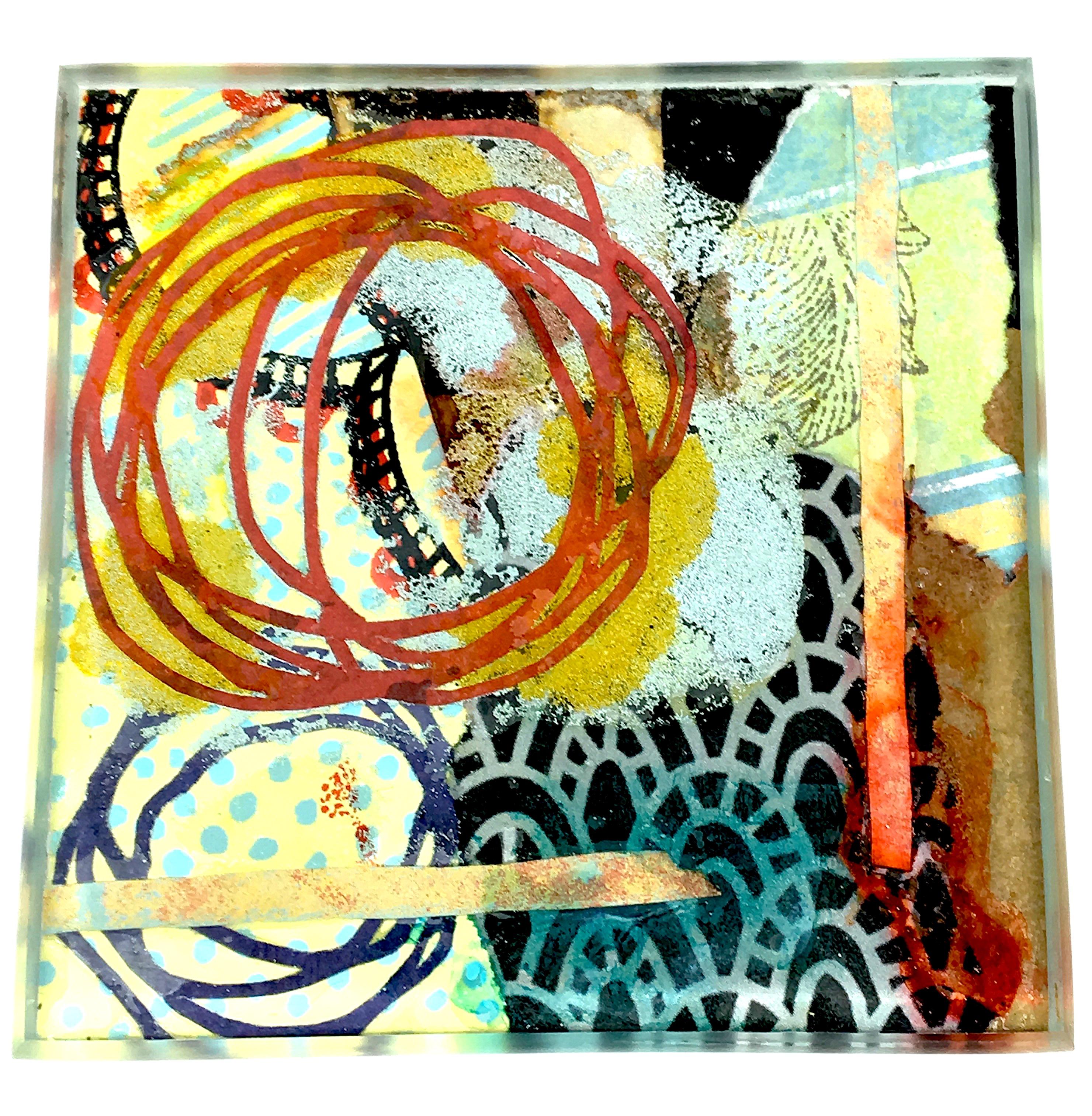 Julie Bell Art Tile 34