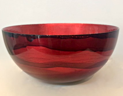 Graff.Small Bowl 2 Red
