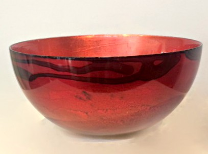 Graff.Small Bowl 3 Red