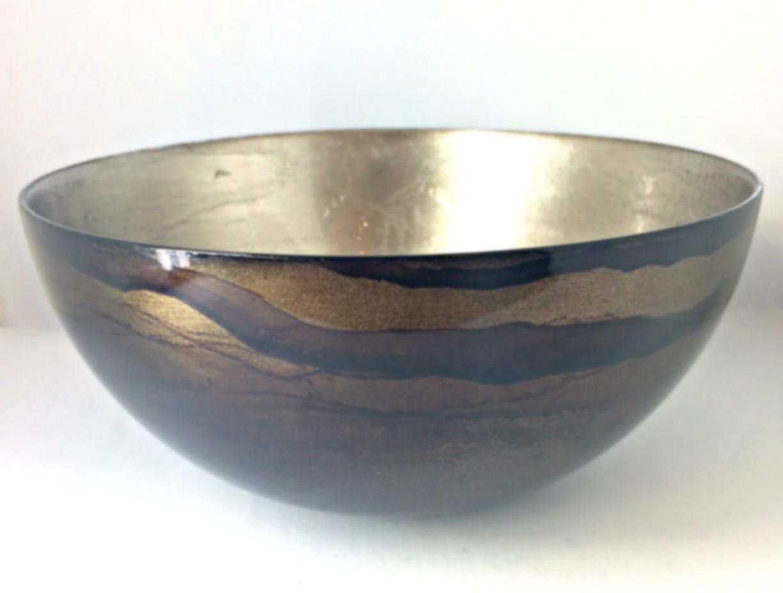 Graff.Small Bowl Bronze