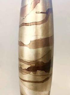 Graff.Small Bronze Bullet Vase