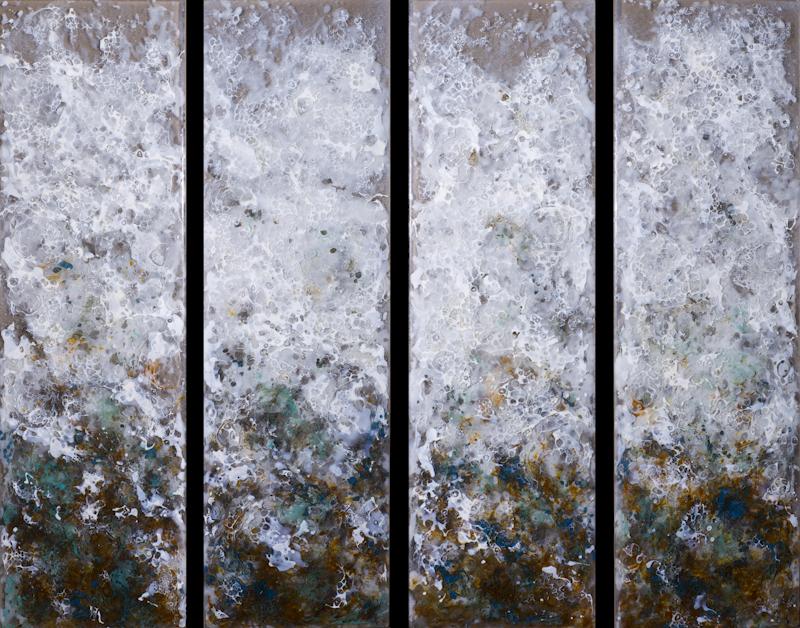 Sea Foam by Heather Cuell