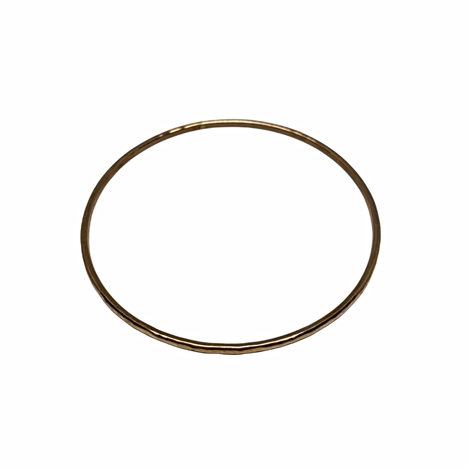 Handmade bronze bangle by Karyn Chopik   Effusion Art Gallery + Cast Glass Studio, Invermere BC
