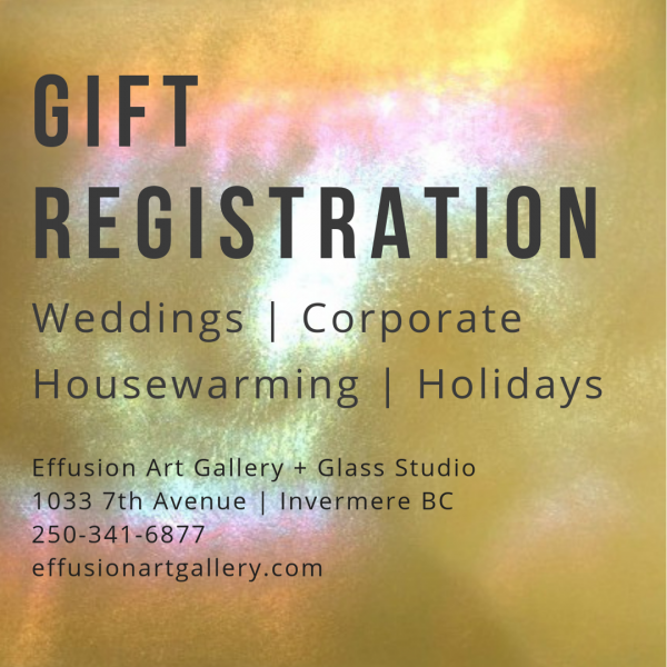 Now Offering Gift Registration