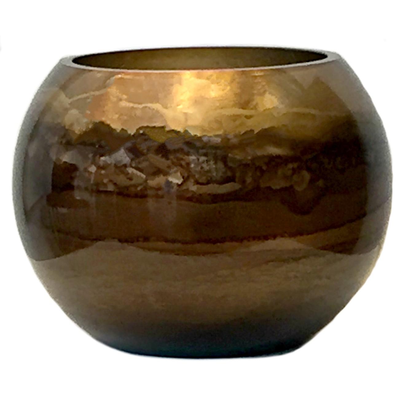 Graff.Small Bubble Bowl Bronze
