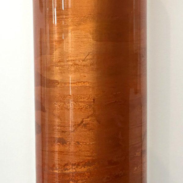 Orange Gilded Vase by David Graff | Effusion Art Gallery + Cast Glass Studio, Invermere BC