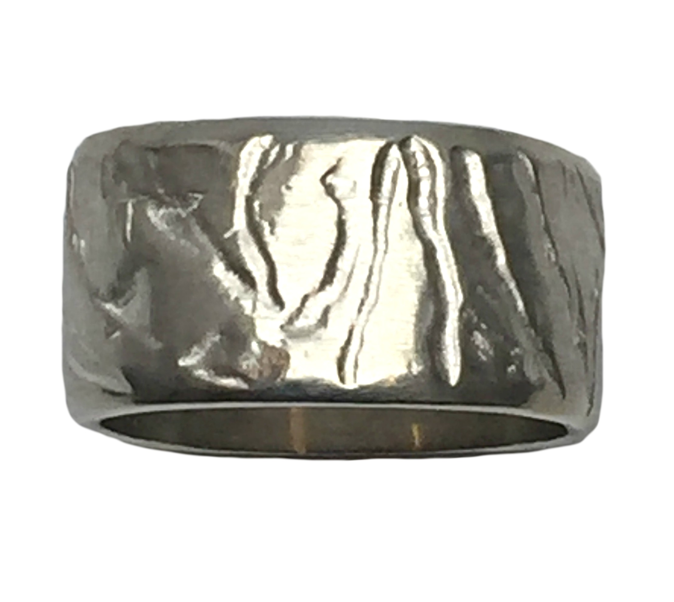 Sterling Silver Ring by Karyn Chopik | Effusion Art Gallery + Cast Glass Studio, Invermere BC