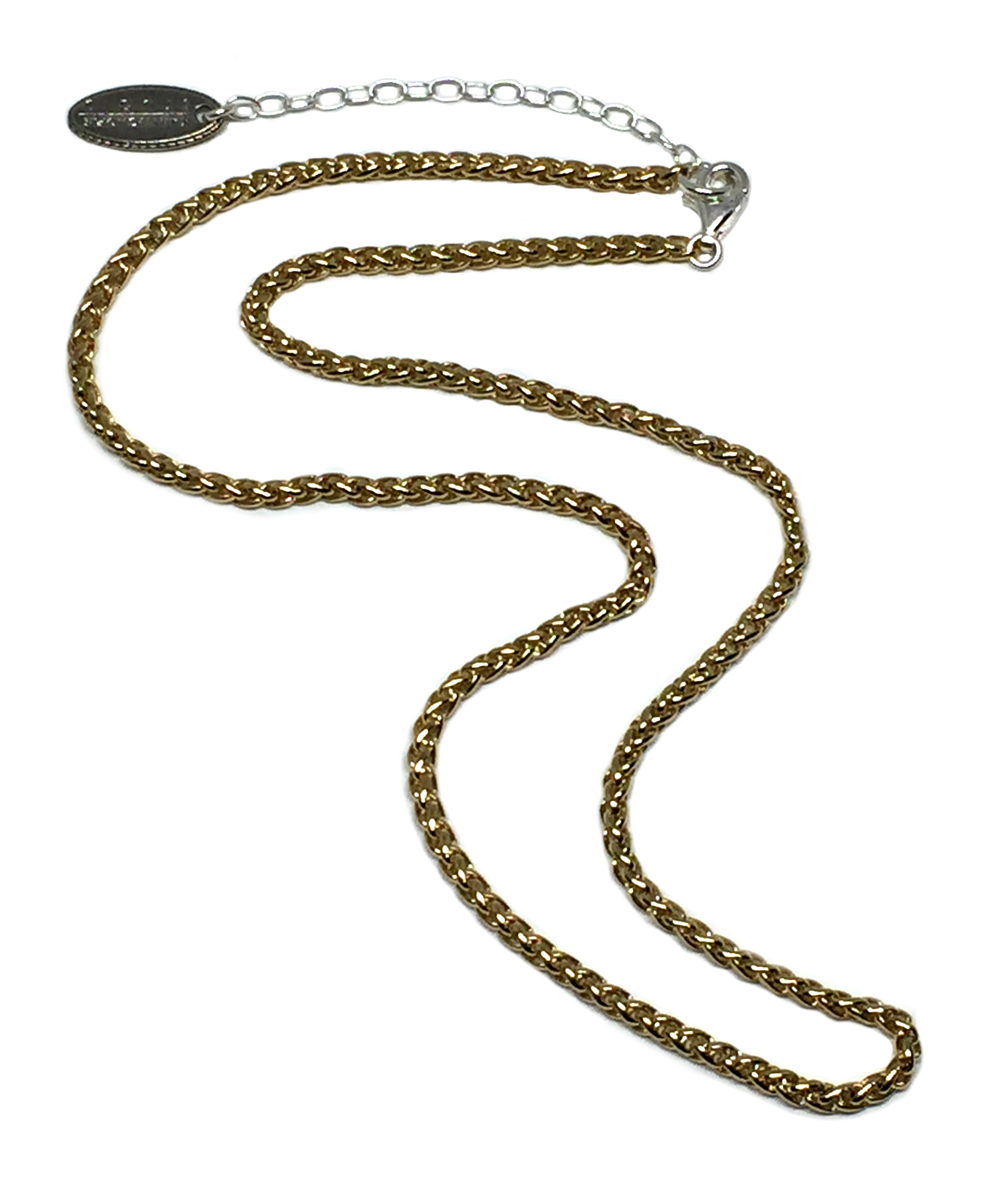 14 karat gold chain by Karyn Chopik | Effusion Art Gallery + Cast Glass Studio, Invermere BC