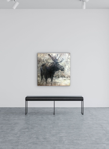 Moose by Paul Garbett | Effusion Art Gallery + Cast Glass Studio, Invermere BC