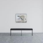 Running Polar Bear by Paul Garbett | Effusion Art Gallery + Cast Glass Studio, Invermere BC