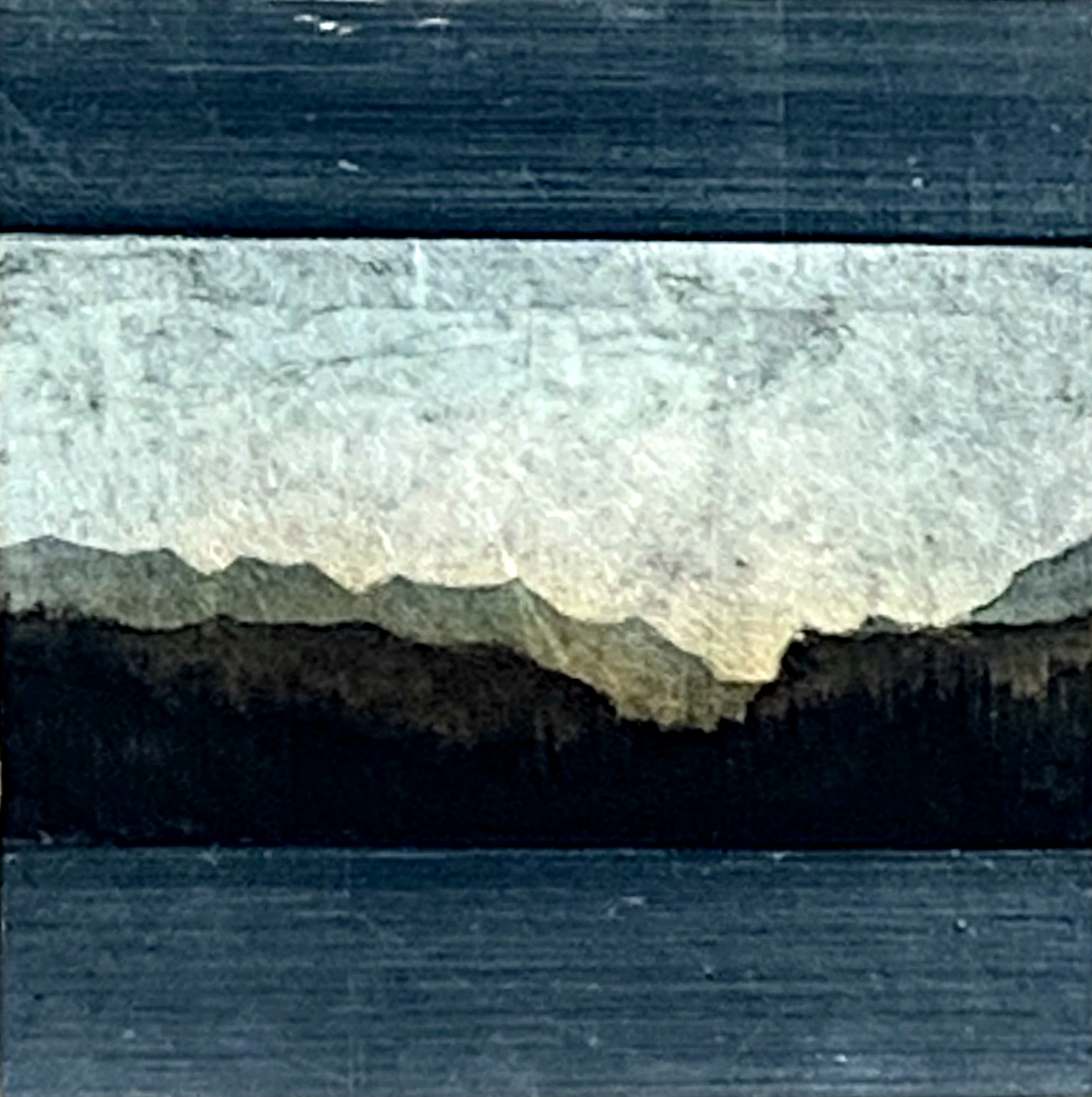 180, mixed media landscape painting by David Graff | Effusion Art Gallery + Cast Glass Studio, Invermere BC