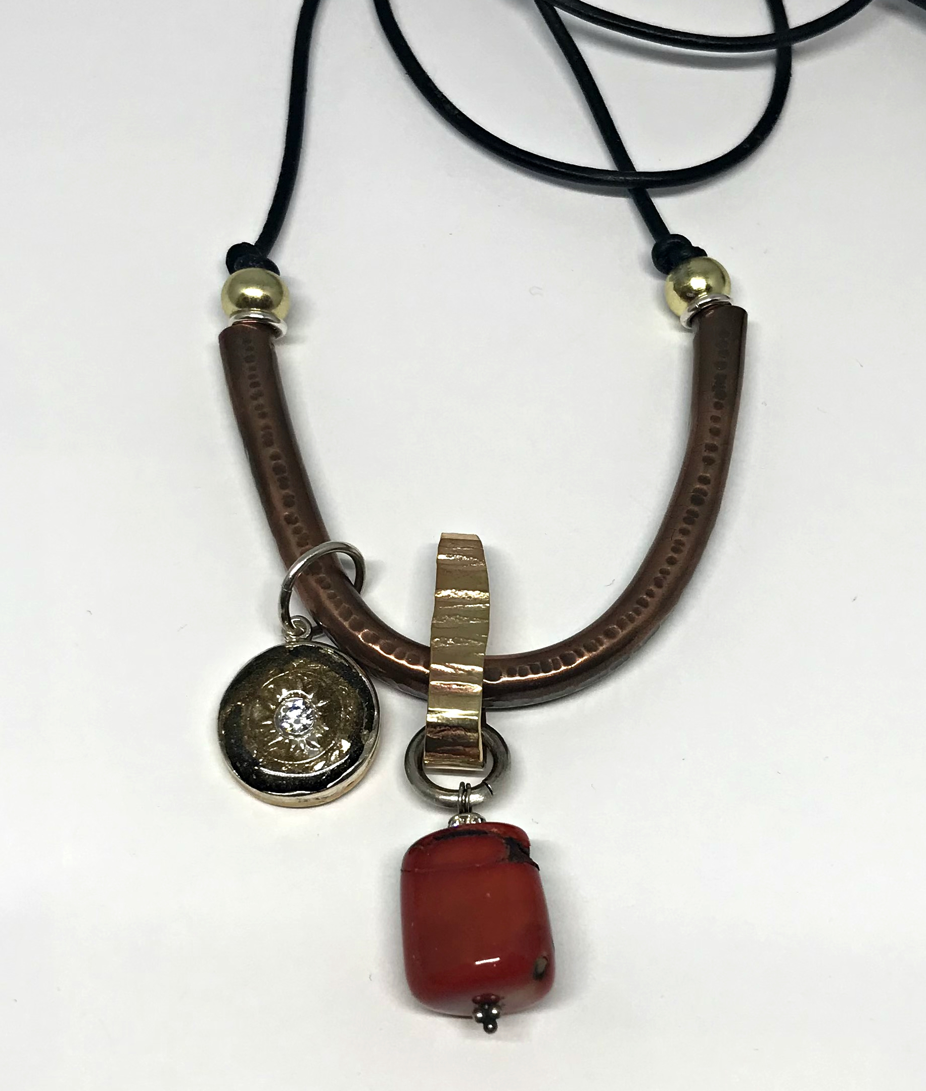Elbisrever Necklace by Karyn Chopik   Effusion Art Gallery + Cast Glass Studio, Invermere BC