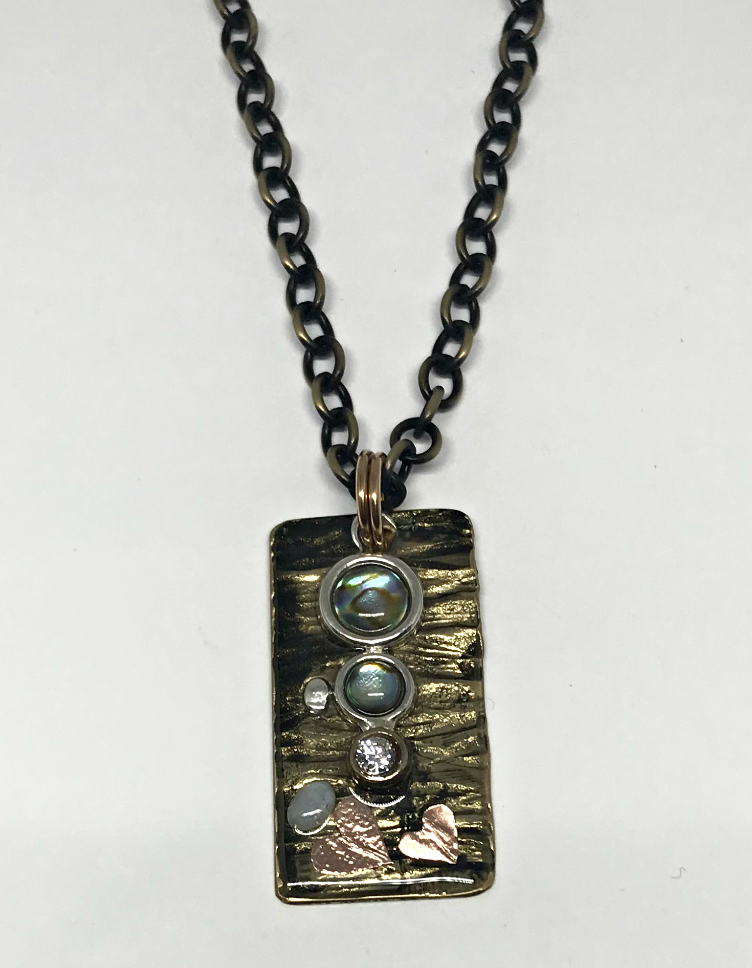 Experimental Necklace by Karyn Chopik | Effusion Art Gallery + Cast Glass Studio, Invermere BC