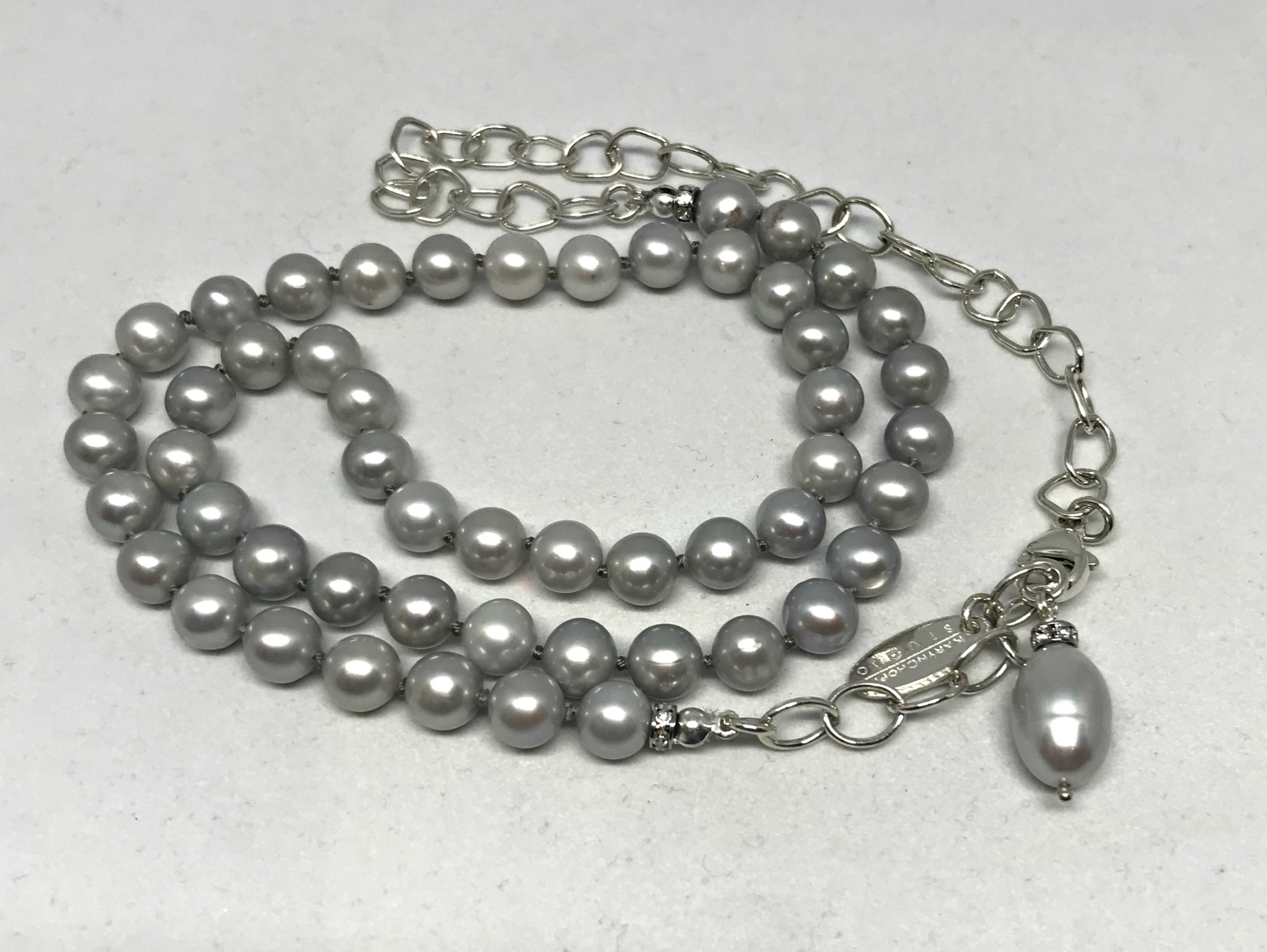 Gentle Soul Pearl Necklace by Karyn Chopik | Effusion Art Gallery + Cast Glass Studio, Invermere BC