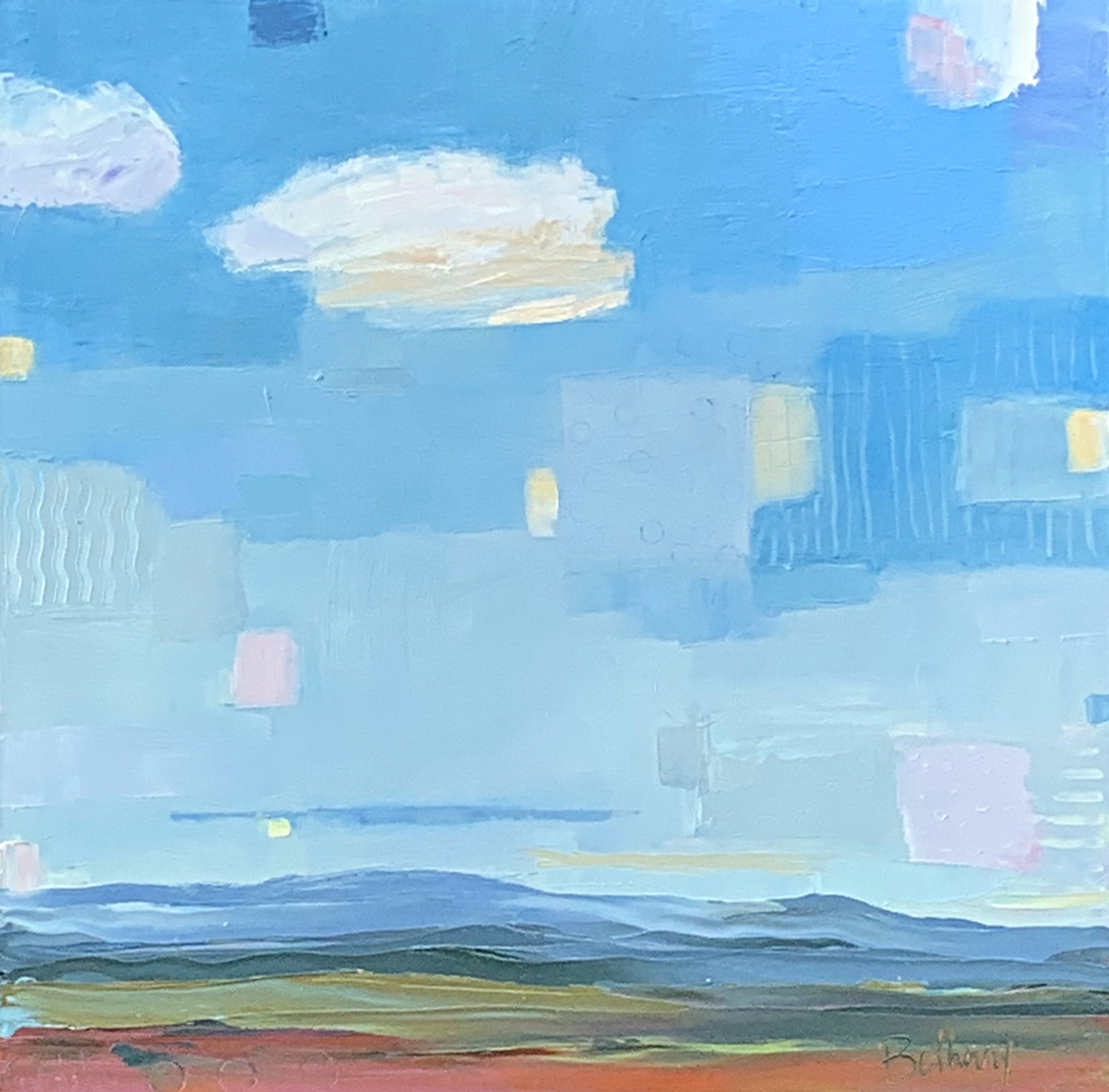 Wonder in the Clouds, landscape oil painting by Bethany Harper Williams   Effusion Art Gallery + Glass Studio, Invermere BC