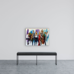 Turn it Up Loud by Kimberly Kiel   Effusion Art Gallery + Cast Glass Studio, Invermere BC