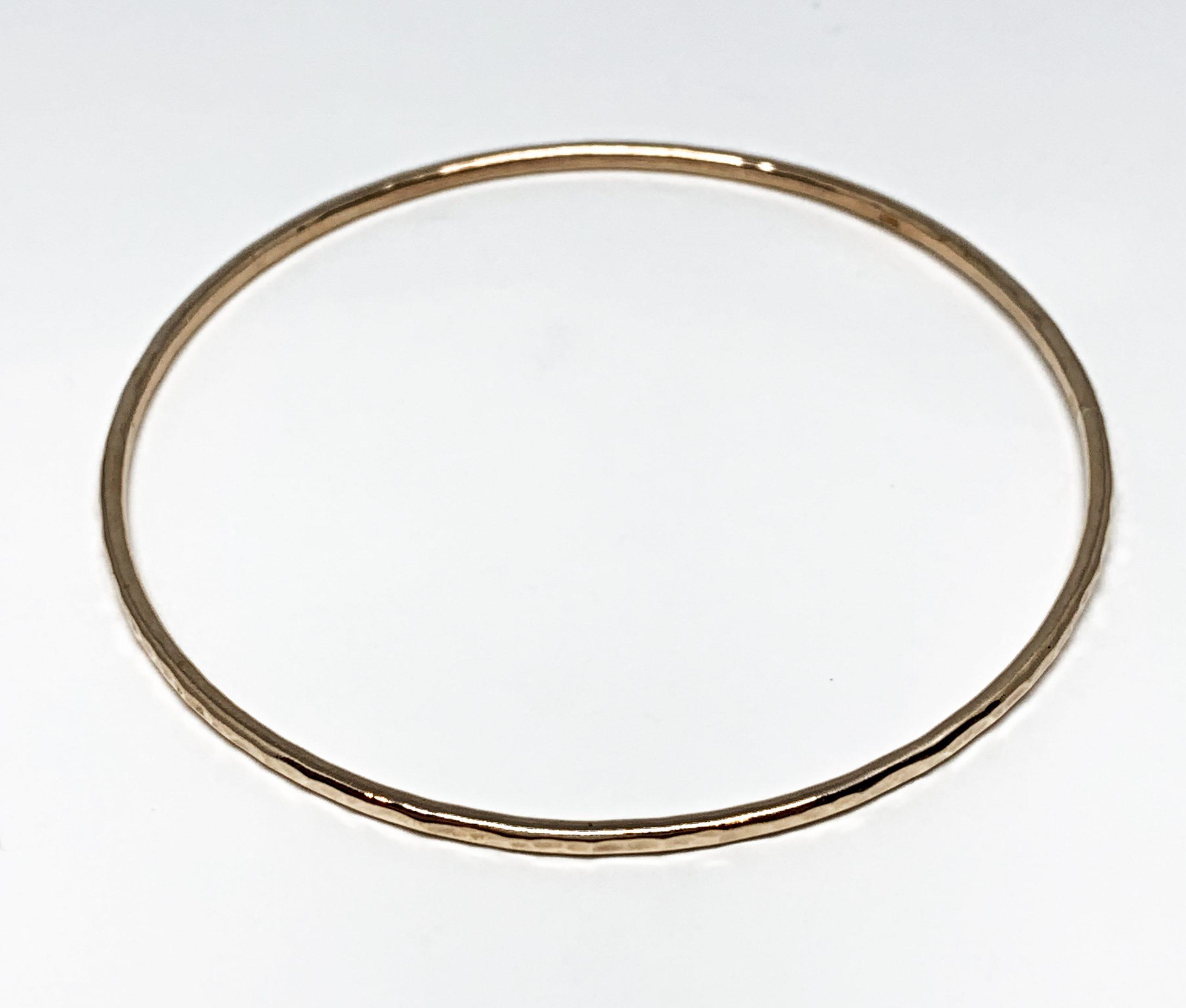 Bronze bangle by Karyn Chopik | Effusion Art Gallery + Cast Glass Studio, Invermere BC