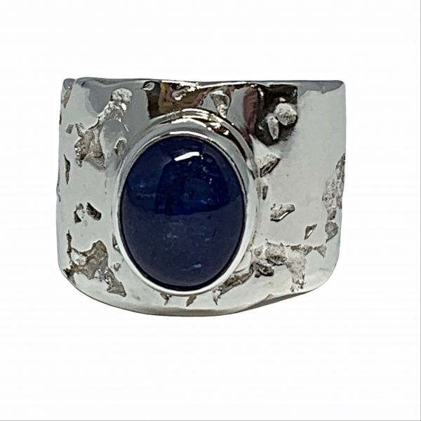Sterling silver and tanzanite ring by A&R Jewellery   Effusion Art Gallery + Cast Glass Studio, Invermere BC