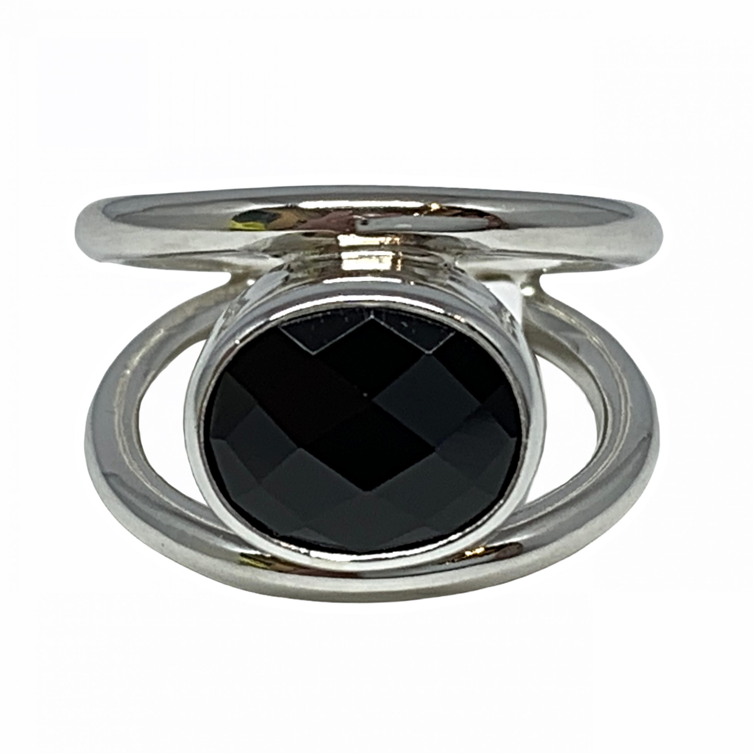 Sterling silver and spinel ring by A&R Jewellery | Effusion Art Gallery + Cast Glass Studio, Invermere BC