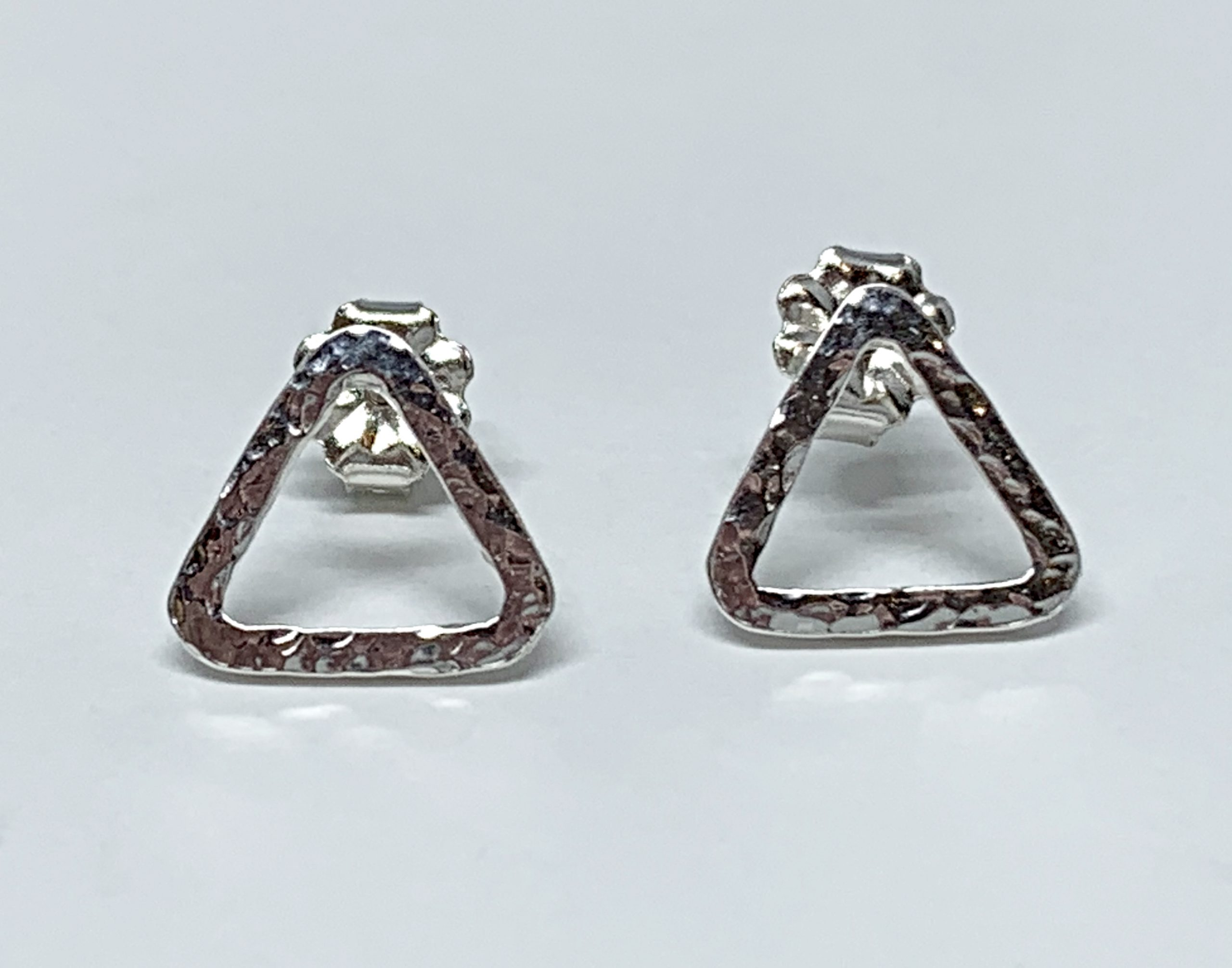 Sterling silver earrings by A&R Jewellery | Effusion Art Gallery + Cast Glass Studio, Invermere BC