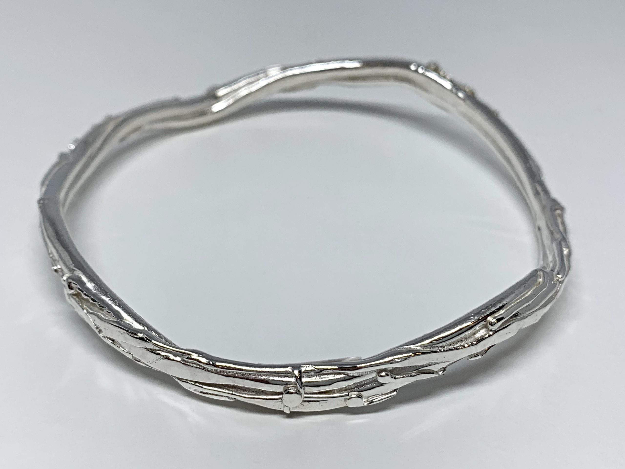 Sterling silver bracelet by A&R Jewellery | Effusion Art Gallery + Cast Glass Studio, Invermere BC