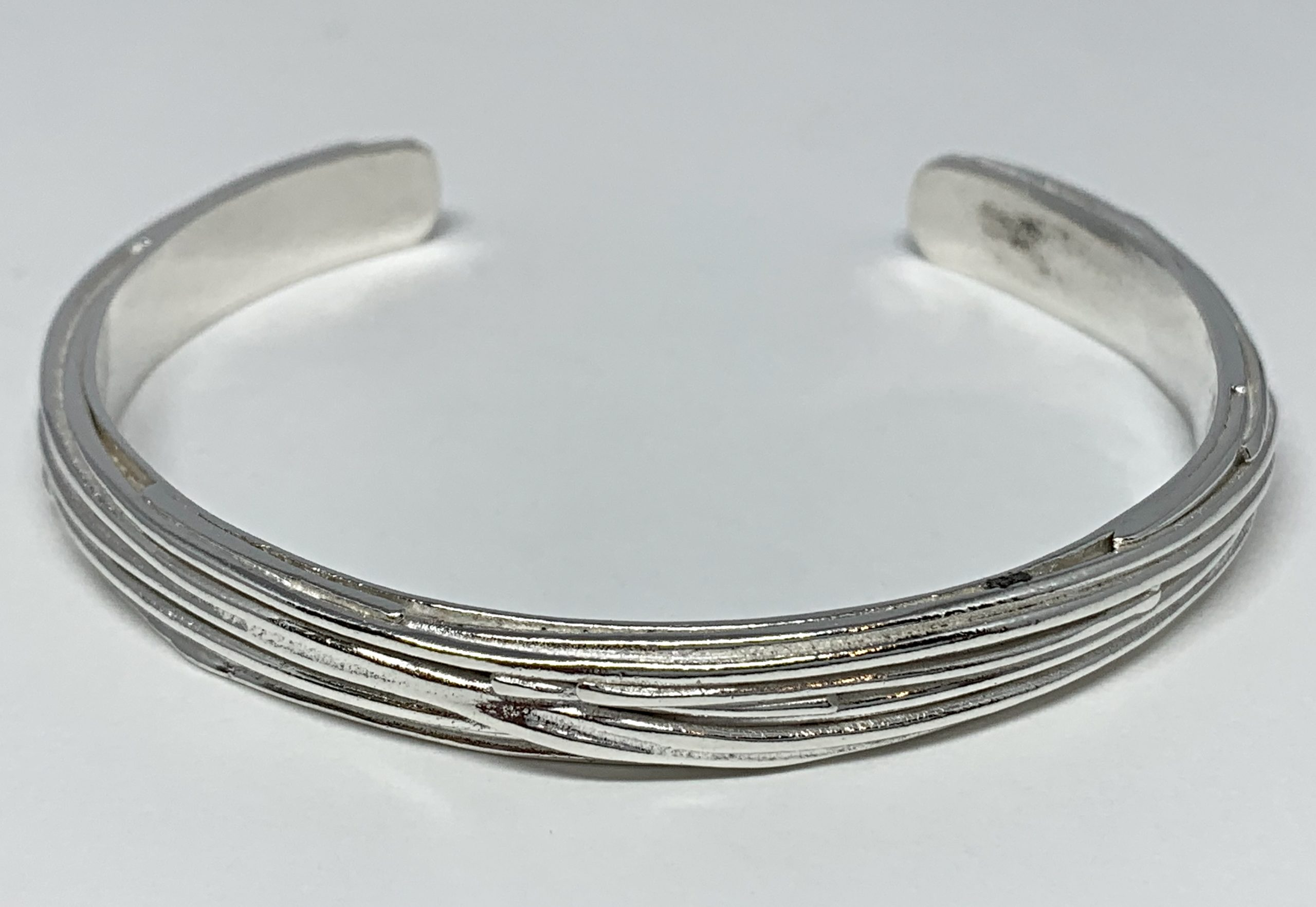 Sterling silver bracelet by A&R Jewellery   Effusion Art Gallery + Cast Glass Studio, Invermere BC