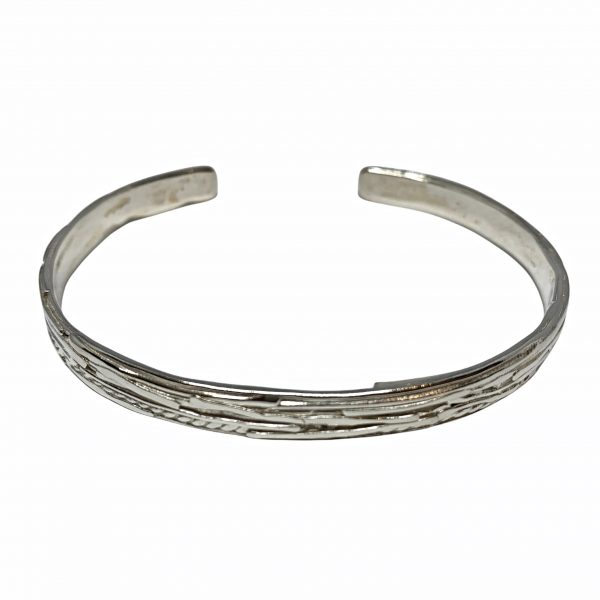 Handmade sterling silver bracelet by A&R Jewellery   Effusion Art Gallery + Cast Glass Studio, Invermere BC