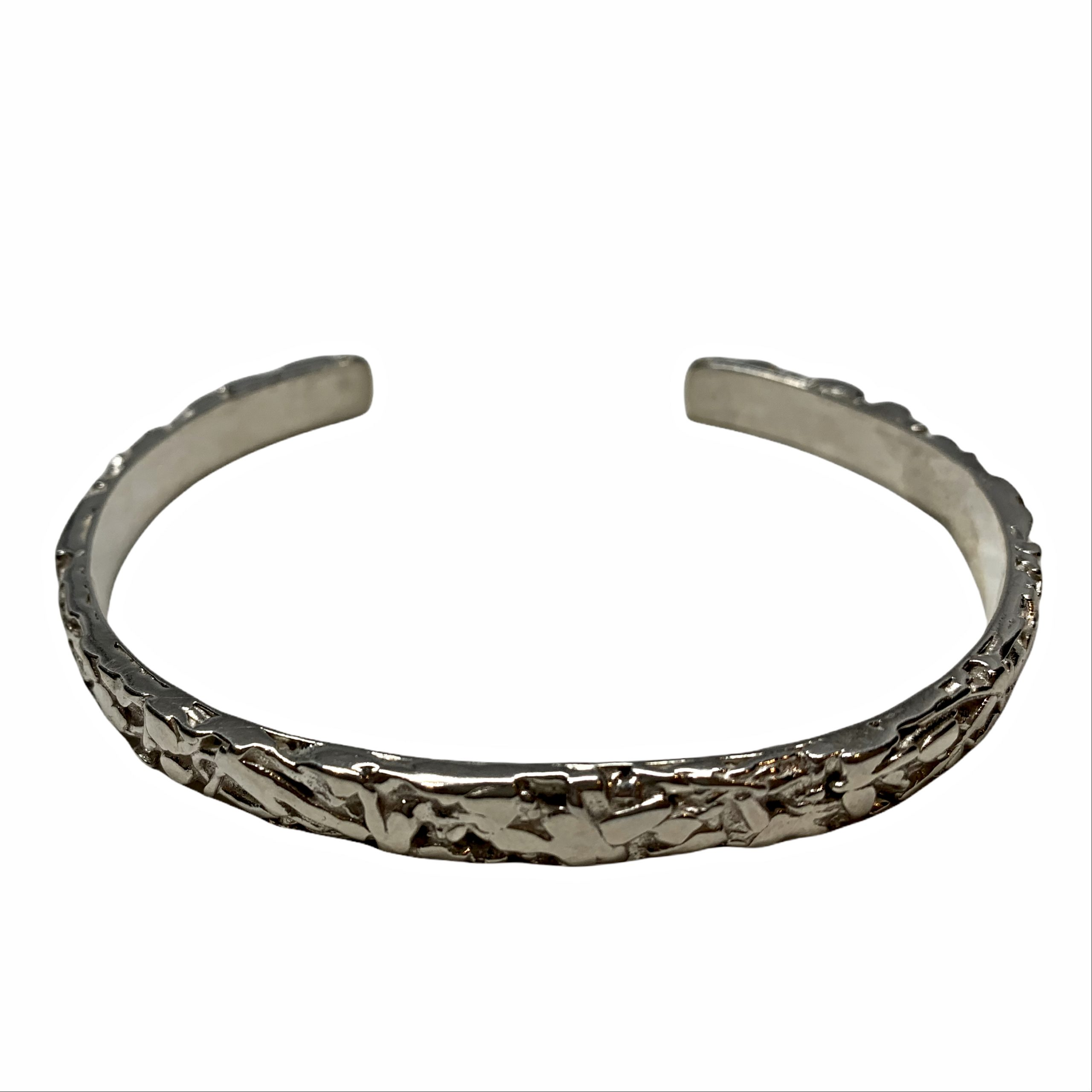 Handmade sterling silver bracelet by A&R Jewellery | Effusion Art Gallery + Cast Glass Studio, Invermere BC