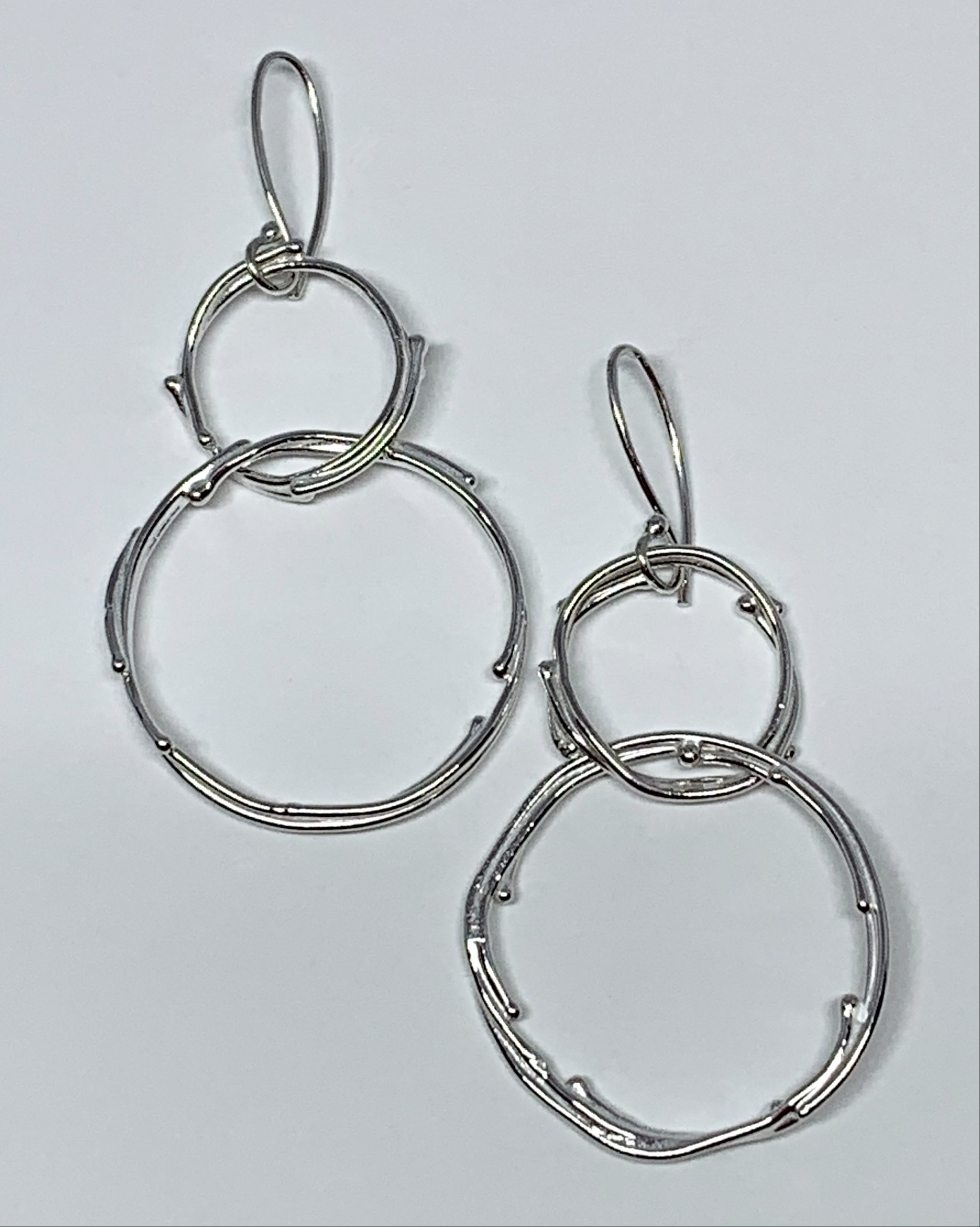 Sterling silver earrings by A&R Jewellery   Effusion Art Gallery + Cast Glass Studio, Invermere BC