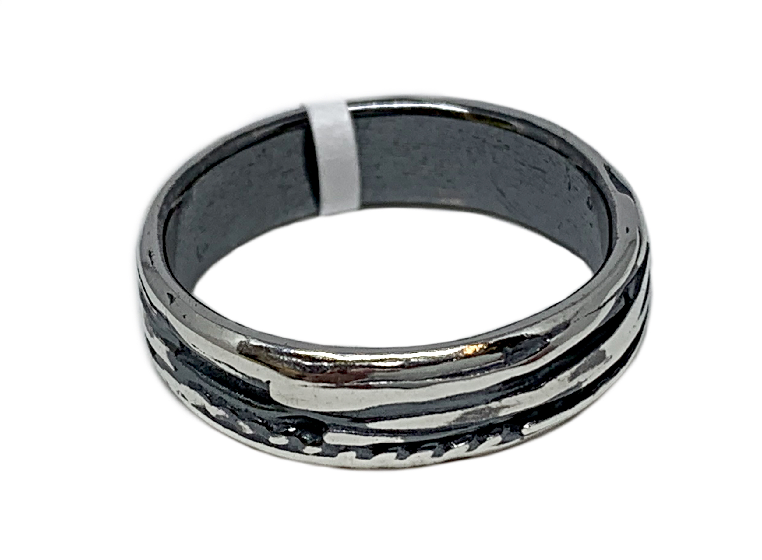 Sterling silver ring by A&R Jewellery   Effusion Art Gallery + Cast Glass Studio, Invermere BC