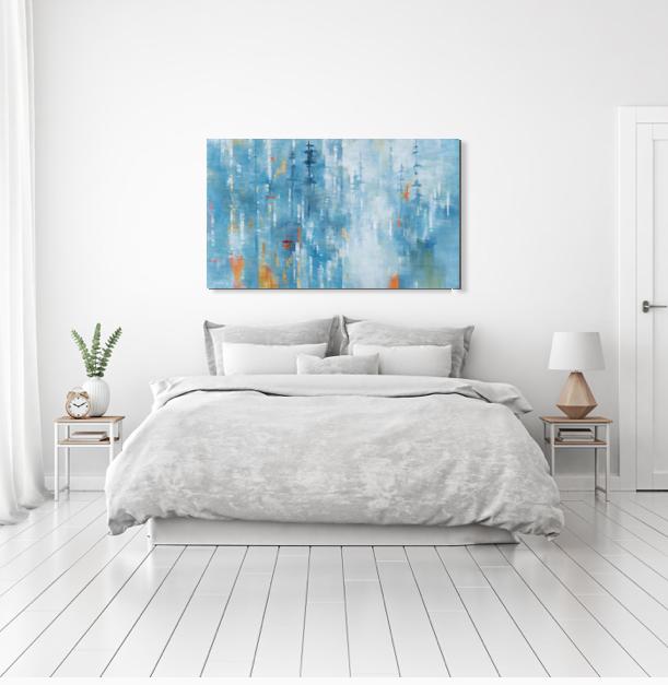 Standing Still by Gina Sarro | Effusion Art Gallery + Cast Glass Studio, Invermere BC
